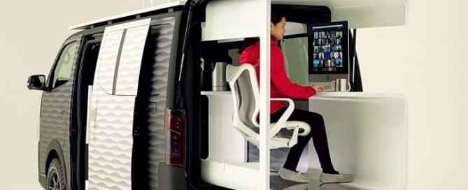 Nissan Office Campervan