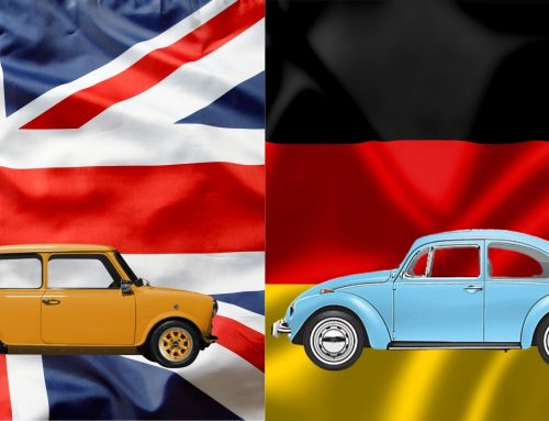England Vs Germany – Battle of the Classic Cars