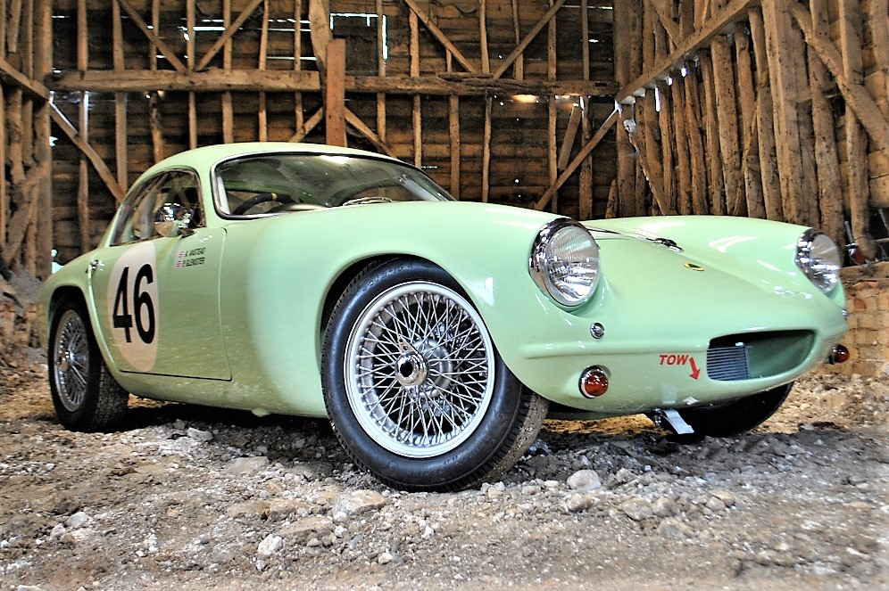 An Interesting Auction: The First Lotus Elite to be Sold, Raced, and Restored on TV