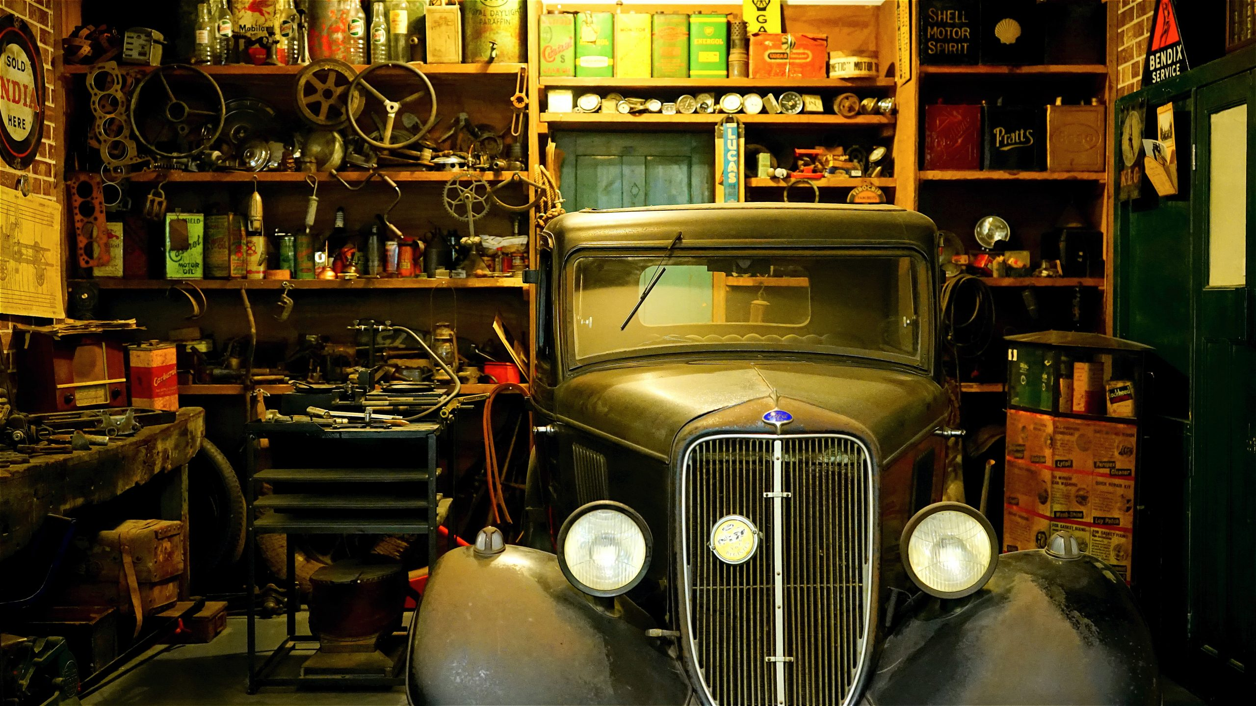 How To Store Your Classic Car Over Winter