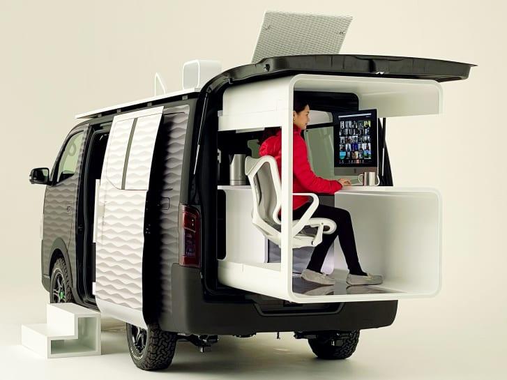 Nissan Unveils Office Campervan Concept