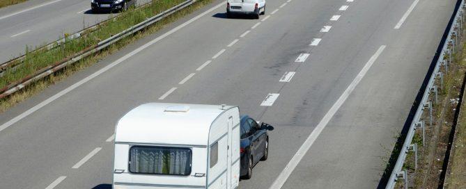 new caravan towing laws